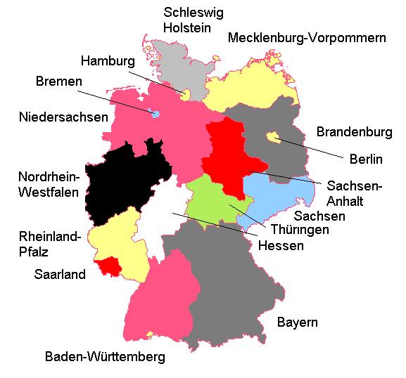 deutschland karte bundesl228nder quiz fli